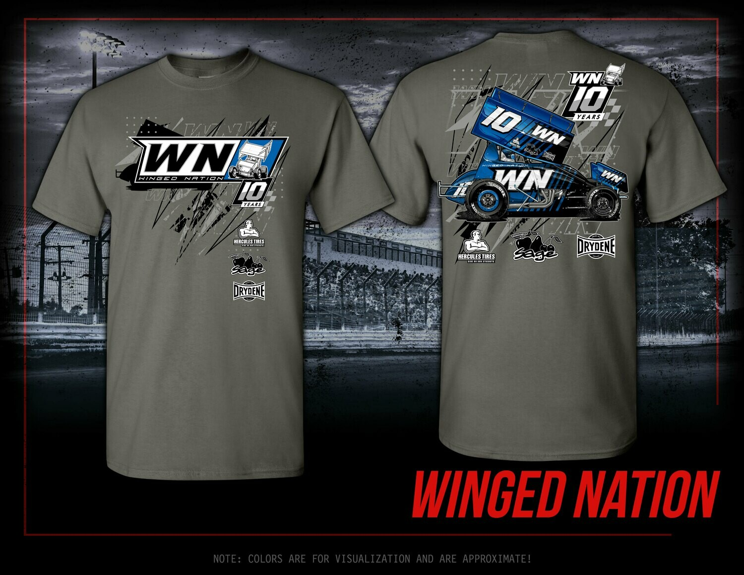 2021 WN Car Swag | CHARCOAL OPTION