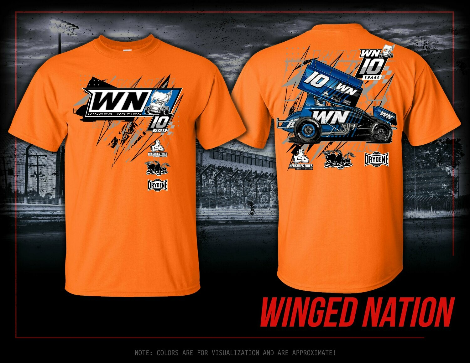2021 WN Car Swag | SAFETY ORANGE OPTION