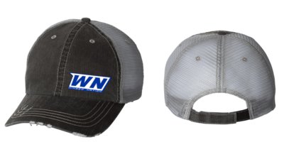 Winged Nation Adjustable Cap: Unstructured Mega Cap