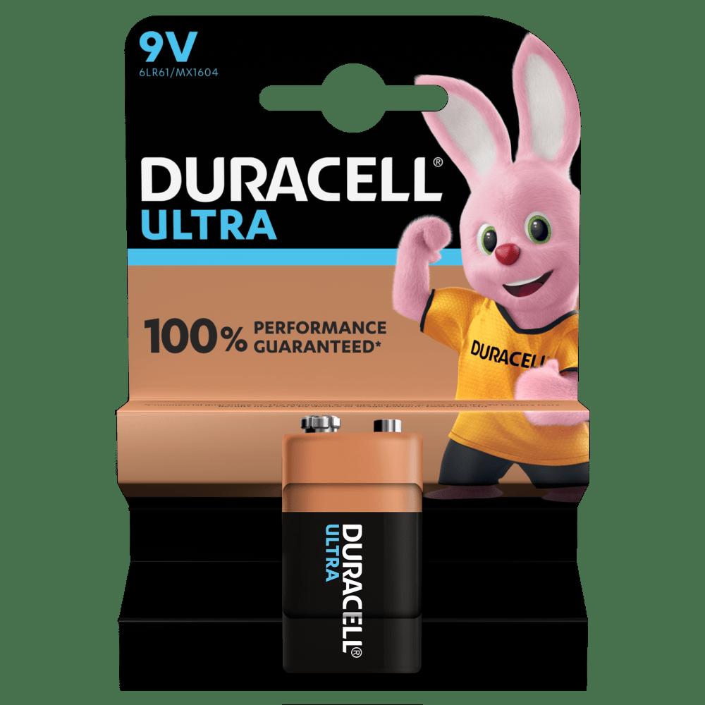 9V Duracell Ultra
