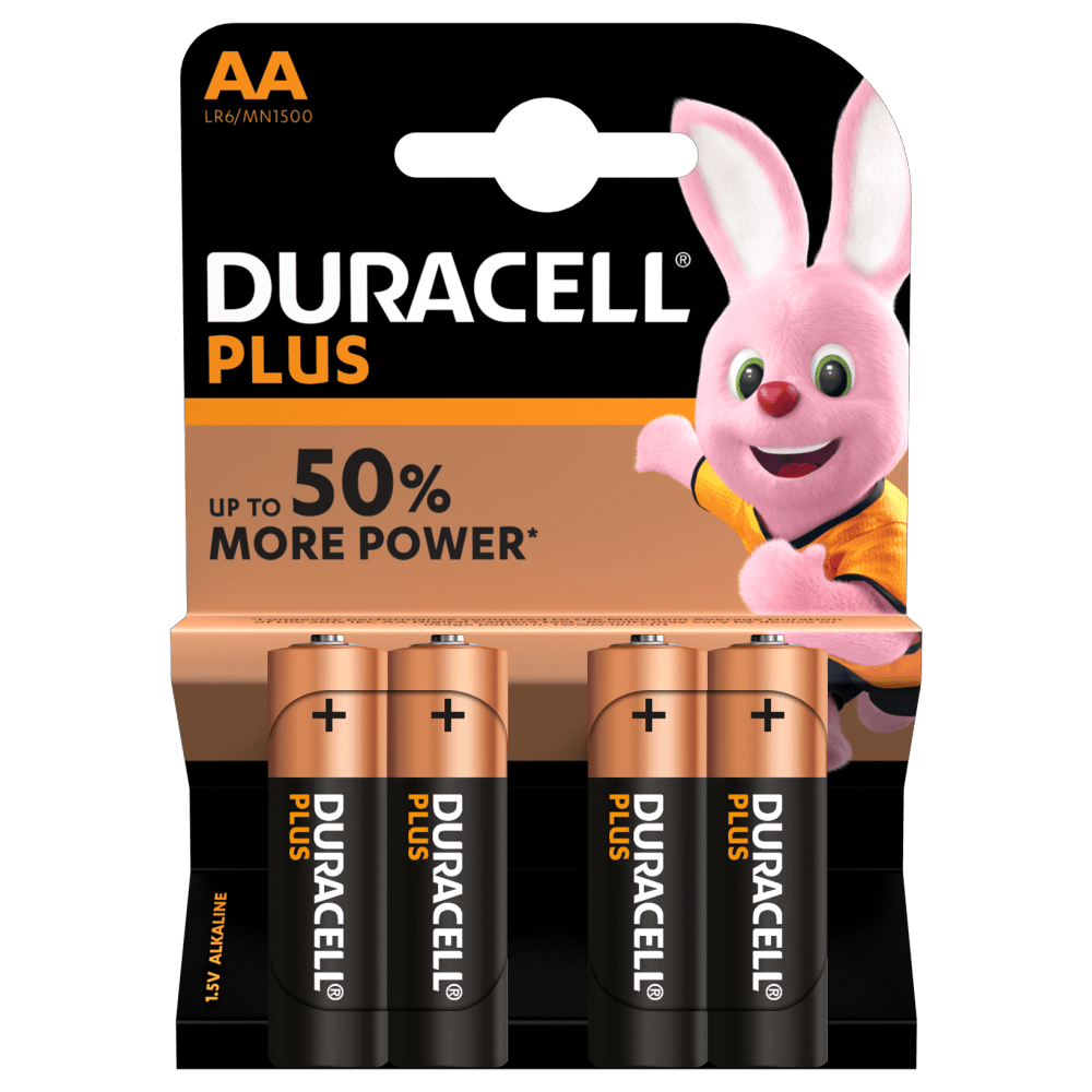 AA Duracell Plus