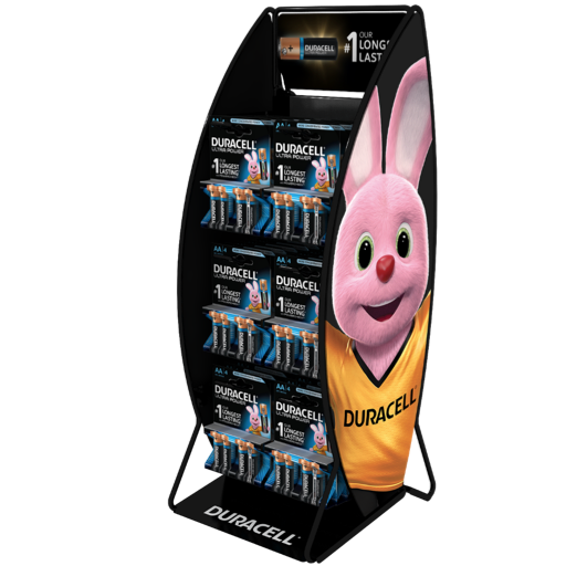 Expositor Duracell 2x3