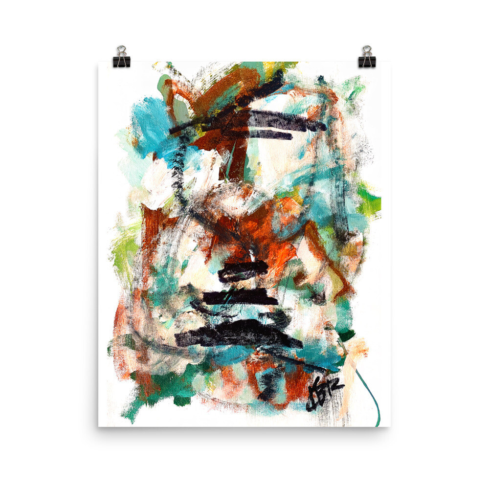 Spring 2021 Collection, ZEN, Abstract Poster