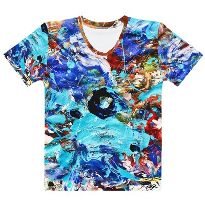 Puddle; abstract ArtTee