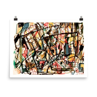 Abstract 44; Abstract Art Poster