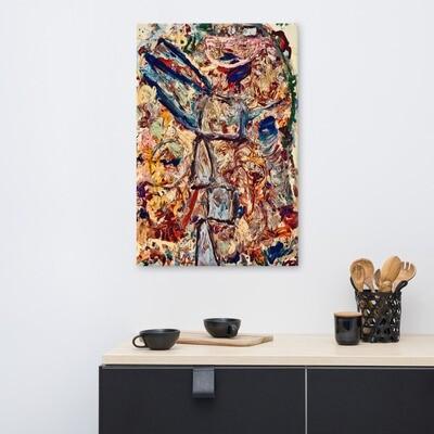 Fall 2021; Abstract 3908 Canvas Print