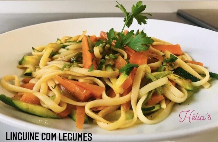 Linguine aux Legumes