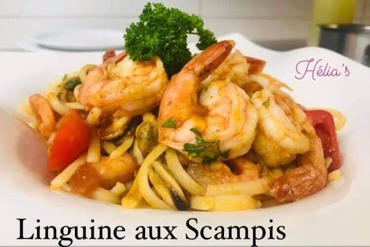 Linguine aux Scampis