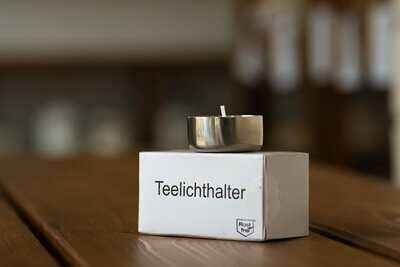 Teelichthalter 4er Pack