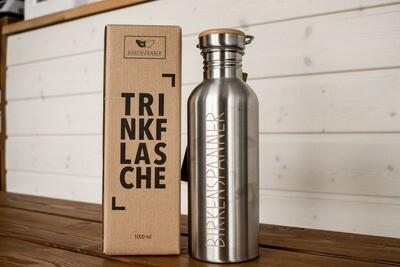 Birkenspanner Trinkflasche 1000 ml einwändig