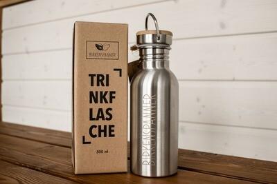 Birkenspanner Trinkflasche 500 ml einwändig