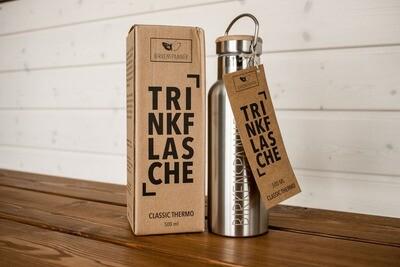 Birkenspanner Trinkflasche 500 ml Thermo