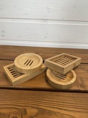 Bambus-Seifenschalen