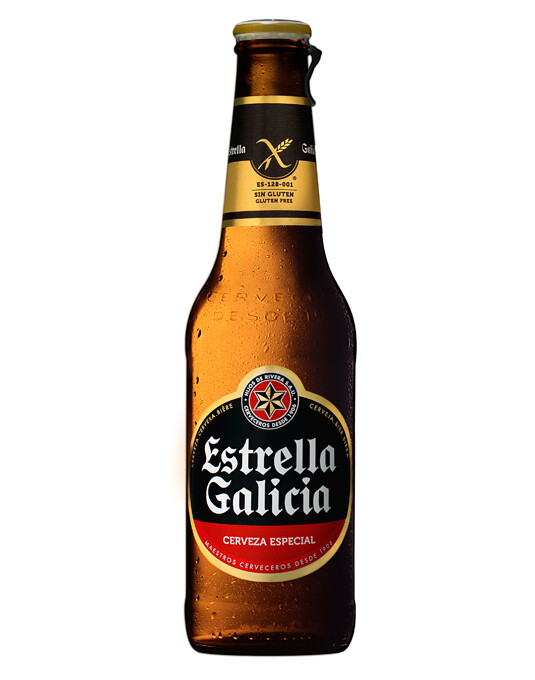 Estrella Galacia 330ml 5.5% ABV (GLUTEN FREE)