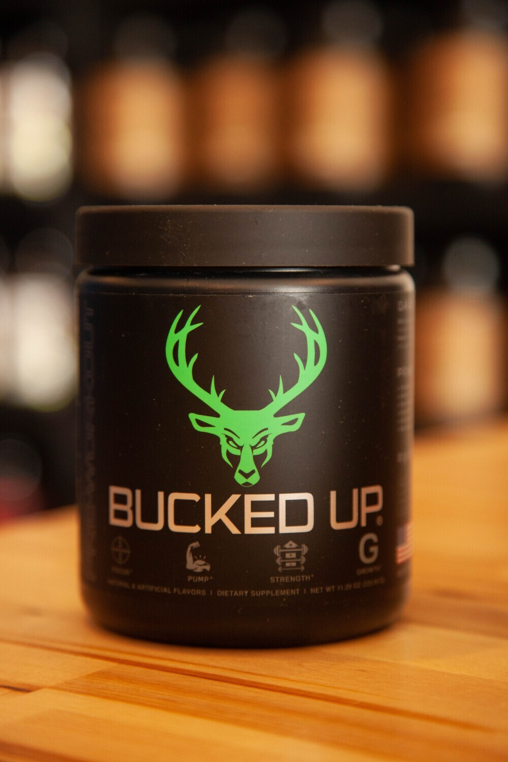 Bucked Up (Mean Green)