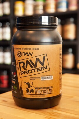 Raw Iso Protein (Cookies & Cream)