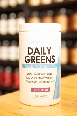 Revive Daily Greens Powder (Fresh Berry)