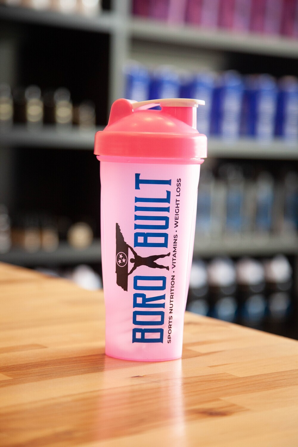 Solid Pink Shaker