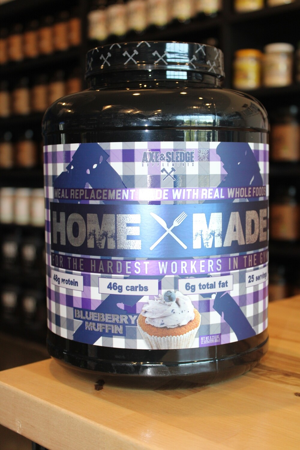 Axe & Sledge HomeMade Protein (Blueberry Muffin)