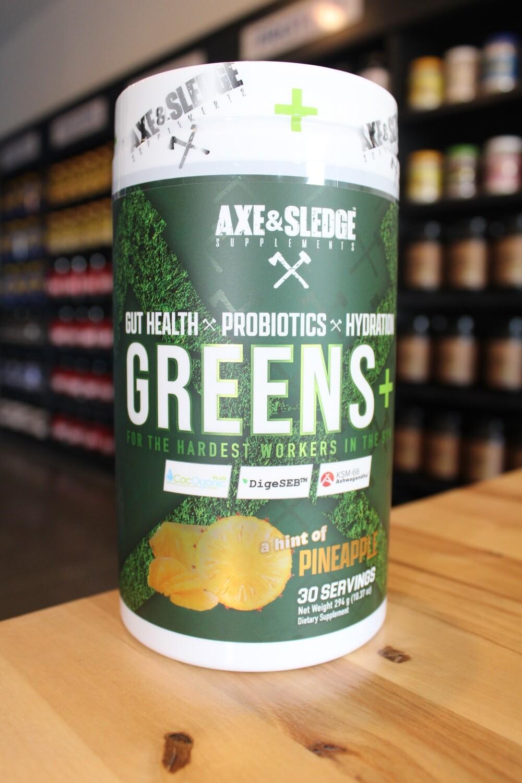 Axe & Sledge Greens (Pineapple)