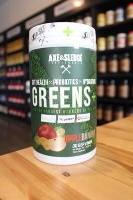 Axe & Sledge Greens (Apple Banana)