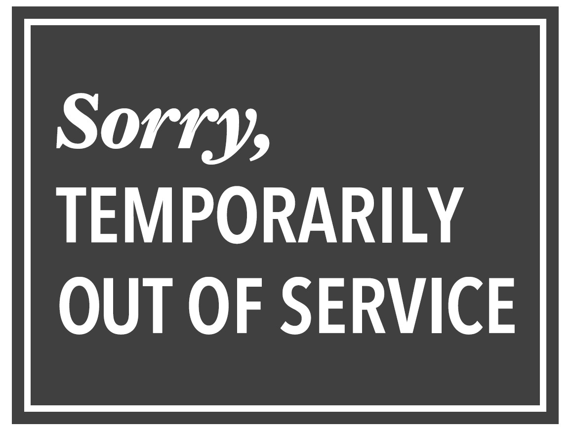 Free Out of Service PDF sign