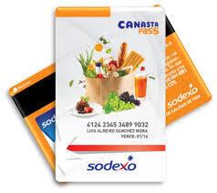 Tarjeta Sodexo - CanastaPass