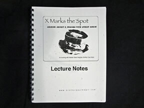 X Marks the Spot - Lecture Notes