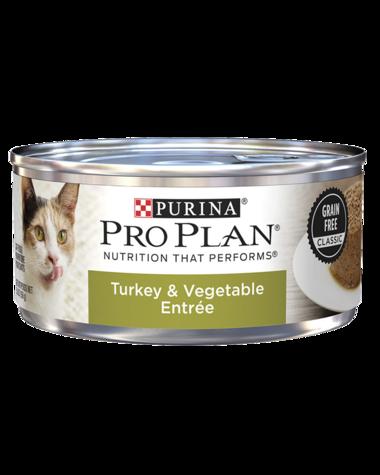 PRO PLAN CAT CANS TURKEY & VEG 156 GRAM