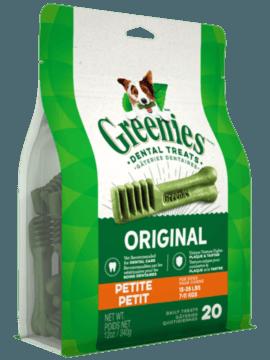GREENIES  PETITE  DOG TREATS 12 OZ