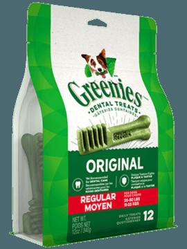 GREENIES REGULAR 12 OZ