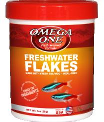 OMEGA ONE FRESHWATER FLAKE 2.2OZ