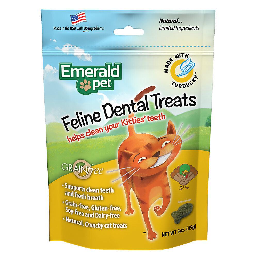 EMERALD DENTAL CAT TREATS 3 OZ