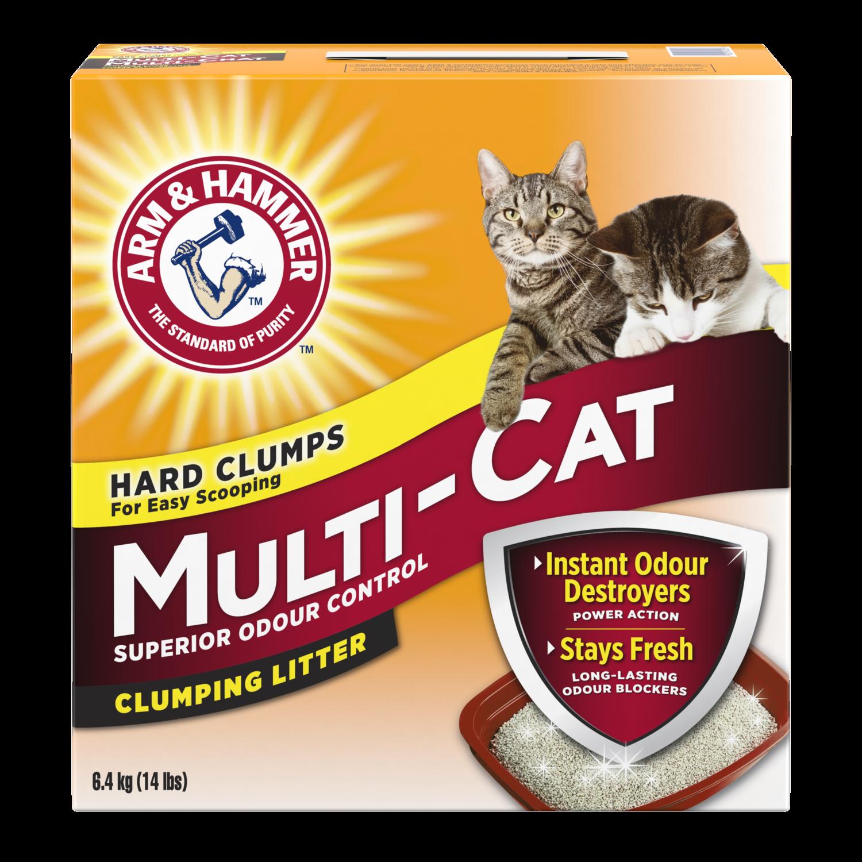 ARM & HAMMER CAT LITTER MULTI-CAT 12.7KG
