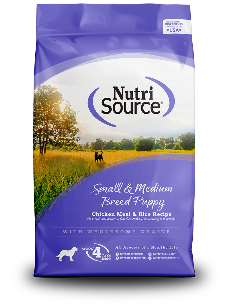 NUTRI SOURCE SMALL/MED BREED PUPPY 3 KG