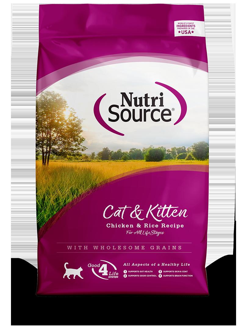 NUTRI SOURCE CAT & KITTEN 16LB