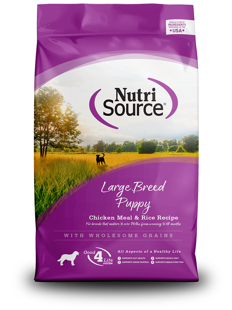 NUTRI SOURCE LARGE BREED PUPPY 5LB