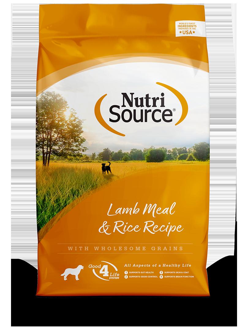 NUTRI SOURCE DOG LAMB & RICE 5LB