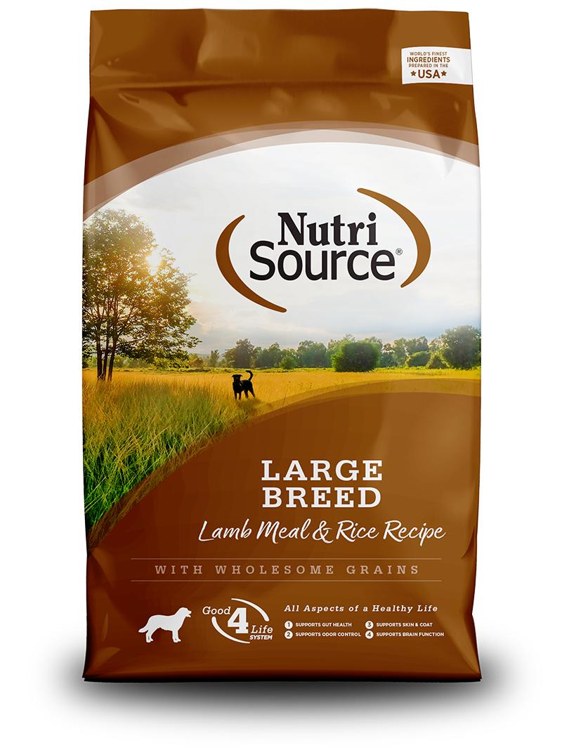 NUTRI SOURCE LARGE BREED LAMB 15KG