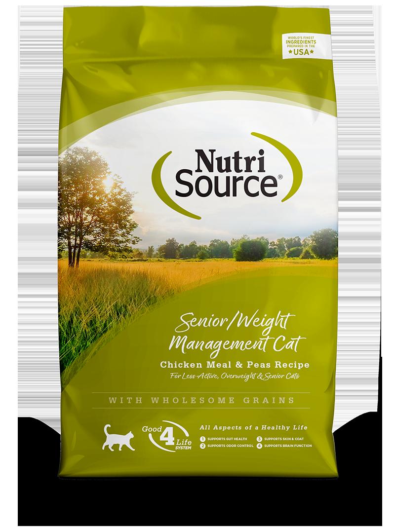 NUTRI SOURCE CAT SENIOR/WEIGHT 3KG