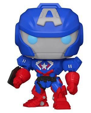 Pop Marvel Avengers Mech Strike Captain America 829