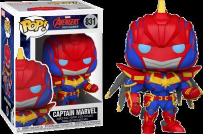 Pop Marvel Avengers Mech Strike Captian Marvel 831