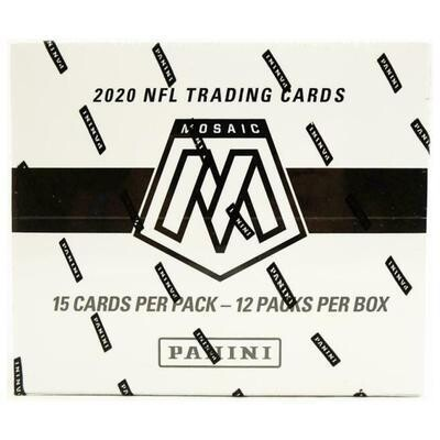 2020 Panini Mosaic Multipack Box