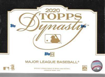 Topps Box - 2020 Topps Dynasty