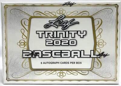 2020 Leaf Trinity Baseball