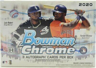 Topps Box - 2020 Topps Bowman Chrome Jumbo Hta