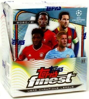 2020/21 Topps Finest UEFA Champions League Soccer