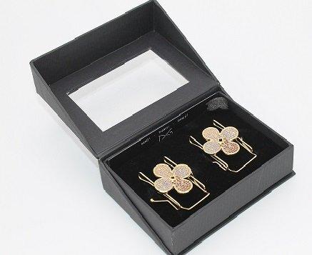 Flower Purple Gold - Clip n Go