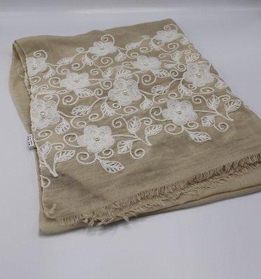 Flowers & Pearls sjaal