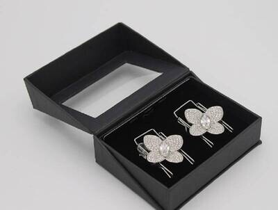 Butterfly Diamond Silver - Clip n Go
